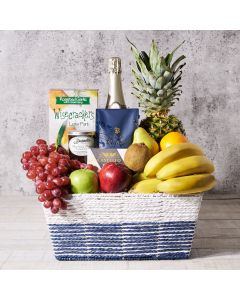 coffee, cheese, fruit, Fruits Gift Baskets, champagne, Champagne Gift Basket, Set 23821-2021, bestSeller, Fruit gift basket delivery, delivery fruit gift basket, champagne basket usa, usa champagne basket