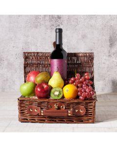 Bartalucci Wine Gift Basket, Wine Gift Baskets, Gourmet Gift Baskets, Fruits Gift Baskets, USA Delivery
