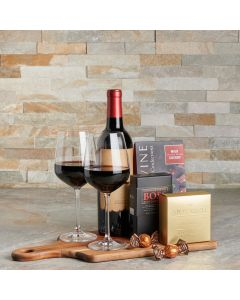 Athens Wine & Chocolate Gift Set