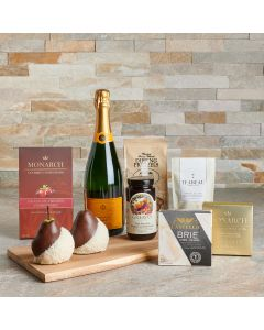 Heavenly Treats Gift Set with Champagne