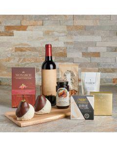 Heavenly Treats Gift Set with Wine