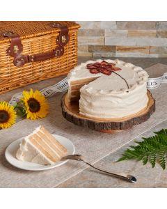 Large Vegan Vanilla Cake, Vegan Cakes, Baked Goods, USA Delivery