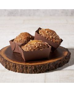 Banana Pecan Mini Loaf, Cakes, Baked Goods, USA Delivery
