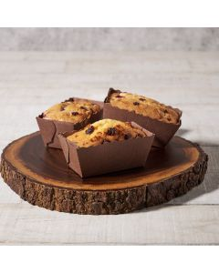Cranberry White Chocolate Chip Mini Loaf, Baked Goods, Cakes, USA Delivery
