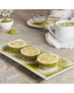 Matcha Cheesecake Cups, Baked Goods, Cheesecakes, USA Delivery