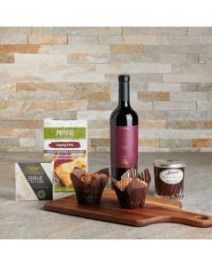 Gourmet Snack & Muffins Gift Basket