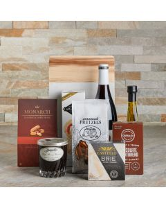 The Delectable Wine & Cheese Board