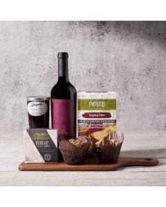 Gourmet Galore Gift Basket