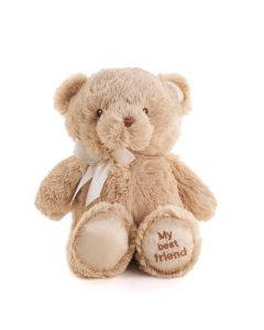 Brown Best Friend Baby Plush Bear, Baby Gifts, Baby Plushies, Toy Plushy, Baby Toys, USA Delivery