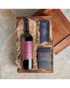 Laval Wine Crate, Wine Gift Baskets, USA Delivery