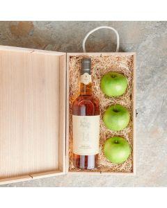 Delightful Fruit & Liquor Gift Basket, Fruit Gift Baskets, Liquor Gift Baskets, Liquor Gift Crates, USA Delivery
