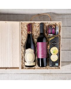 Willowridge Wine Duo Gift Box, Wine Gift Crates, Wine Gift Baskets, Gourmet Gift Crate, Canada Delivery