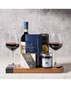 Cheese Board For Two Gift Set