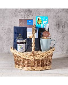 Gourmet gift basket delivery, delivery gourmet gift basket, US delivery, chocolate, coffee, gift basket delivery