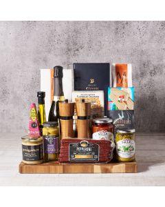 Taste of Italy Champagne Gift Basket