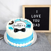 Happy Father's Day Chocolate Cake