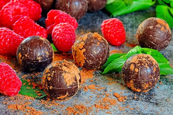 Fresh Handmade Chocolate truffles USA - Same Day Delivery